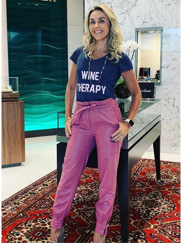 T-shirt Wine Therapy - J CHERMANN