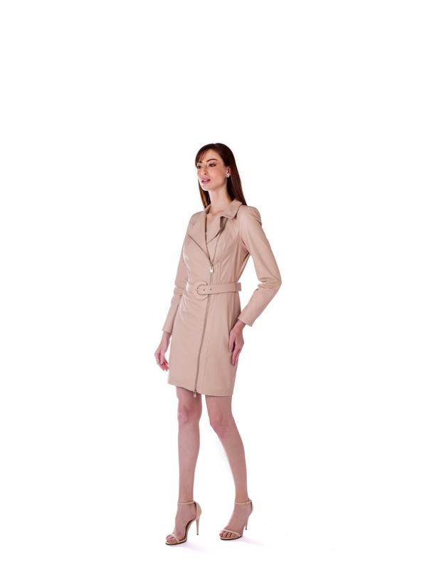 Vestido Jaqueta - Liziane Richter Couros