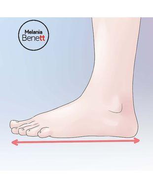 Como descobrir o tamanho do seu calçado