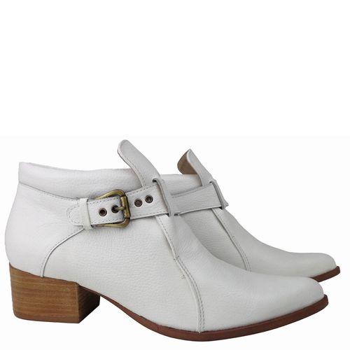 Sapato Branco Despojado Dina Mirtz