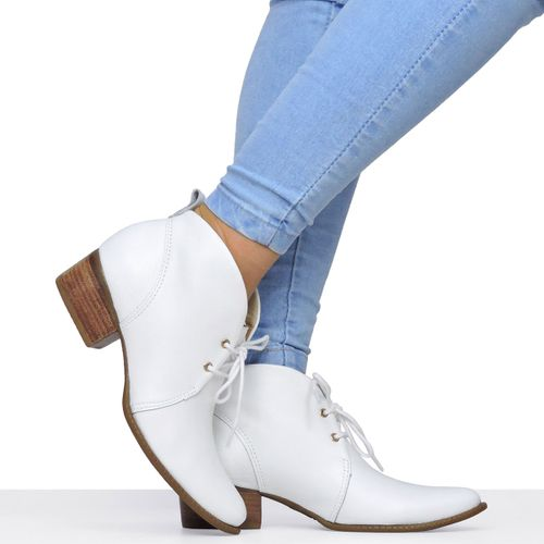 Sapato Branco Montaria Dina Mirtz