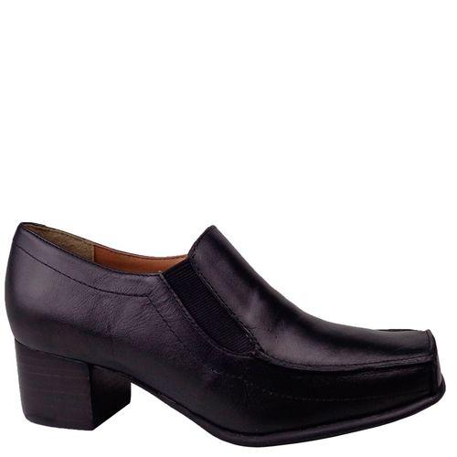 Sapato Dina Mirtz Casual Bico Quadrado Conforto