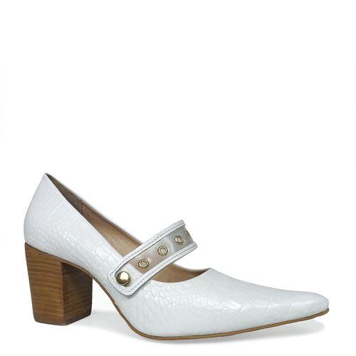 Sapato Dina Mirtz Bico Fino Tira