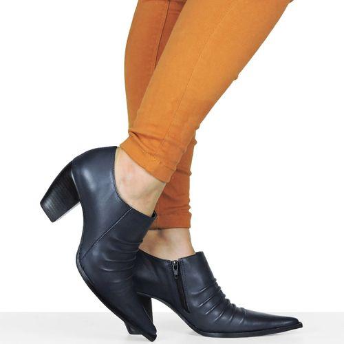 Sapato Dina Mirtz Country Rugas Retas