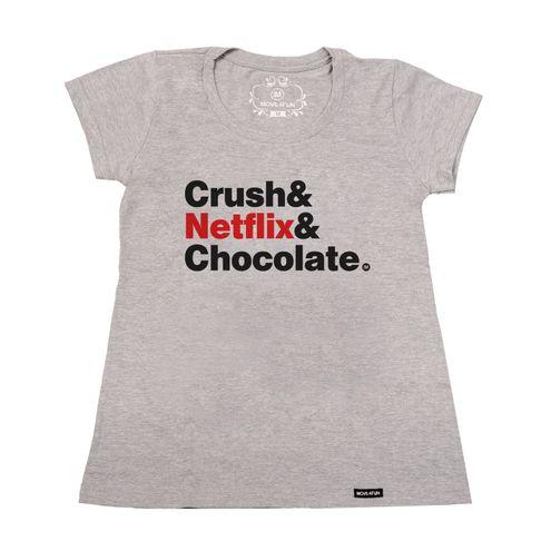 Baby Look Crush e netflix e chocolate