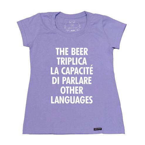 Baby Look The beer triplica la capacité di parlare other languages