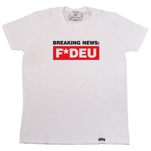 Camiseta Breaking News