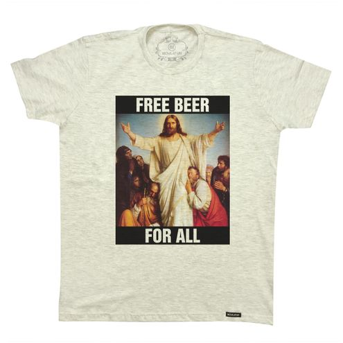 Camiseta Free beer for all