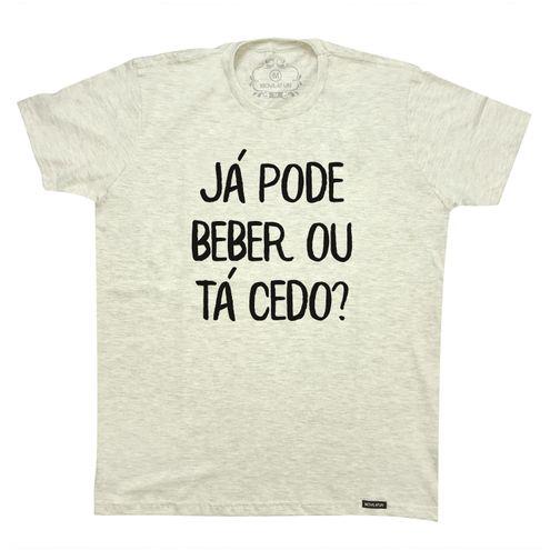 Camiseta Já pode beber ou ta cedo?