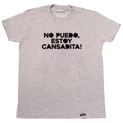 Camiseta No puedo, estoy cansadita