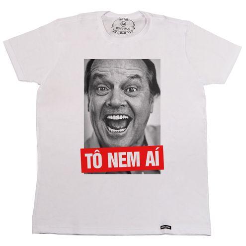 Camiseta Tô nem aí