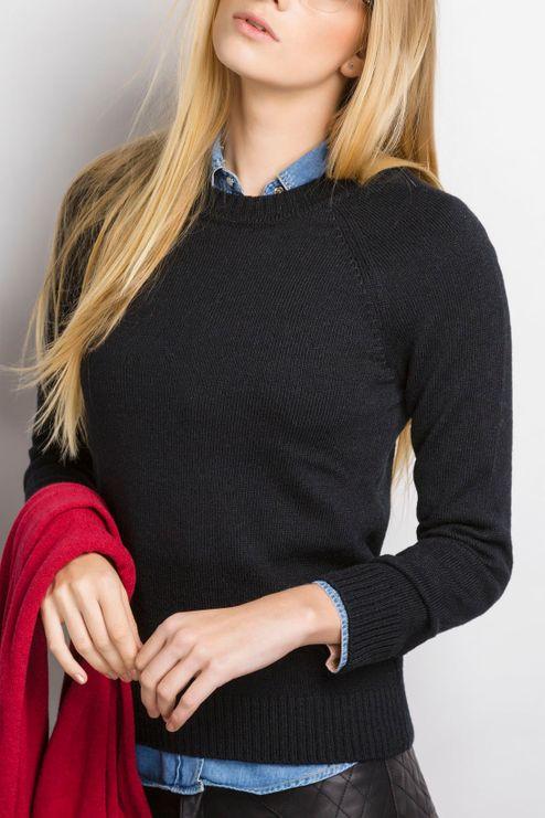 Blusão Feminino Alpaca Gola Redonda (Ms013)