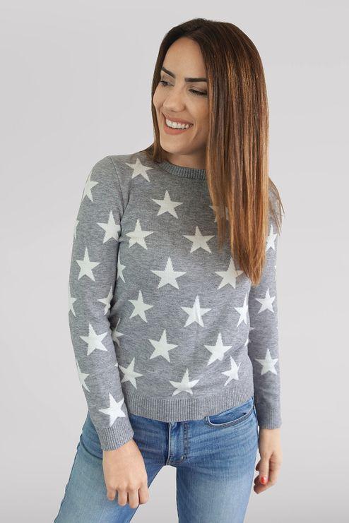 Suéter Adulto Estrelas (Ms039)