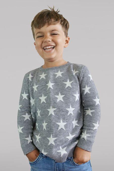 Suéter Infantil Estrelas (Ms038)
