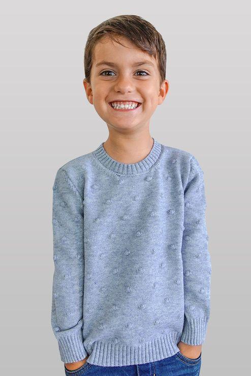 Suéter Infantil Poá (Ms049)