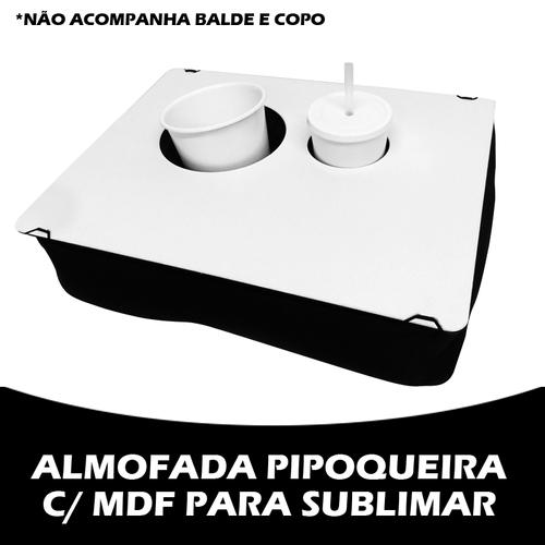 Almofada pipoqueira c/ mdf para sublimar