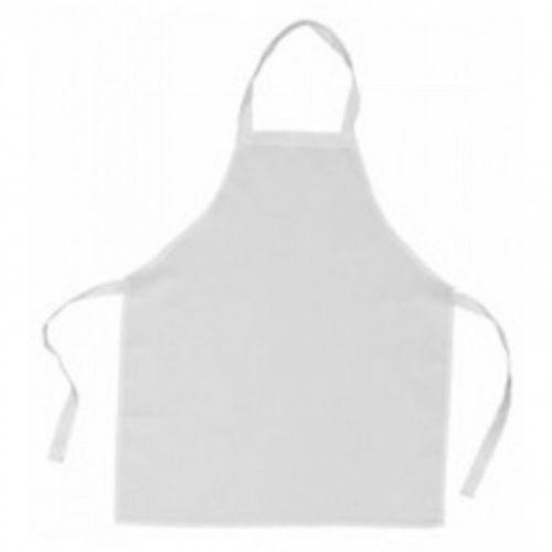Avental Branco - Adulto - Sem Bolso