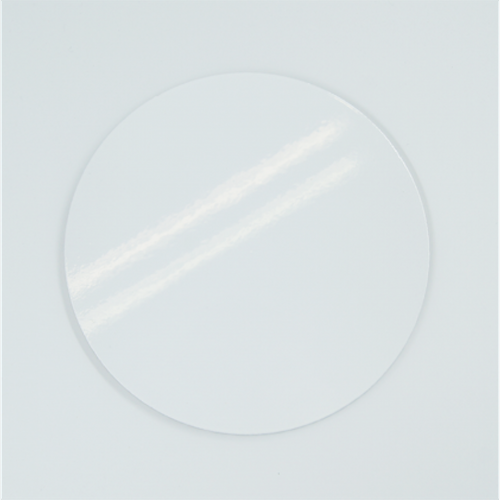 Azulejo Cerâmica Redondo Branco - 18 cm diâmetro