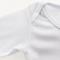 Body CANELADO Bebê Manga Curta, Branco - para sublimação