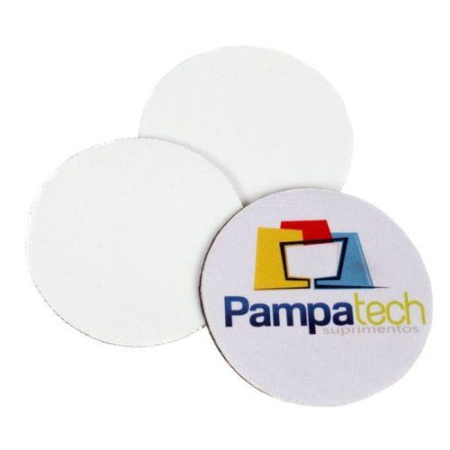 Bolacha Chopp / Porta Copos, Neoprene Redondo - 5 unidades