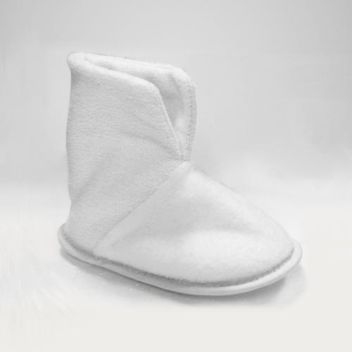 Botinha de inverno INFANTIL - COR BRANCA