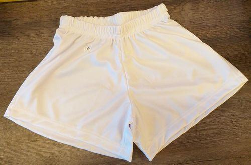 Calção futebol / uniforme infantil branco para sublimar