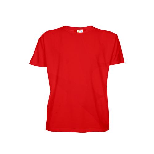 Camiseta Baby Look Adulto para Sublimar - Vermelha