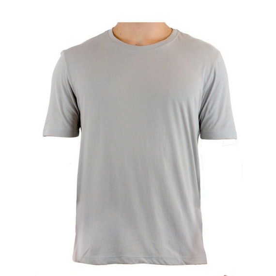 Camiseta Dry Fit Lisa - Cinza