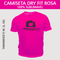 Camiseta Dry Fit Lisa - Tecido Rosa