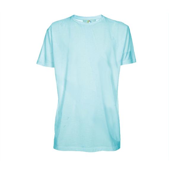 Camiseta Poliéster Azul - Adulto - Manga Curta