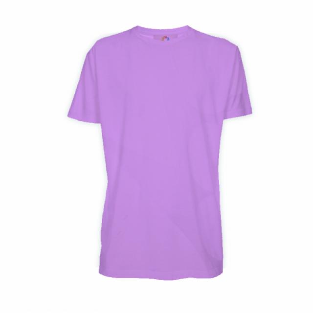 74607b1ff Camiseta Poliéster Lilás - Adulto - Manga curta. ‹ ›