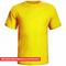 Camiseta Manga Curta Adulto para Sublimar - TODA AMARELA - modelo COPA