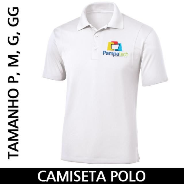 a1e572da193b Camiseta Polo Adulto para Sublimar - Tecido Branco