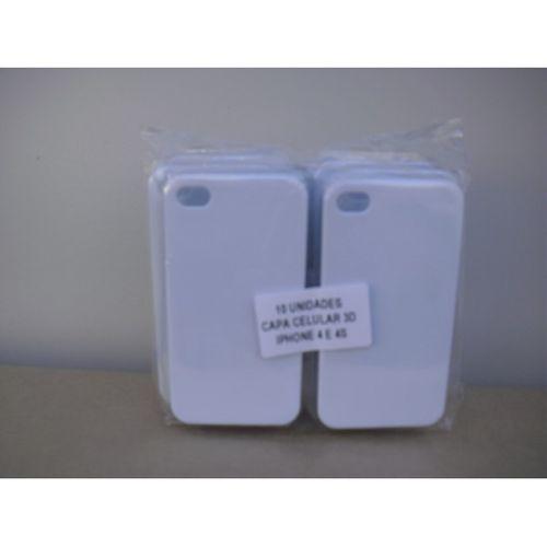Capa 3D em Branco - vários modelos de celular - 10 unidades
