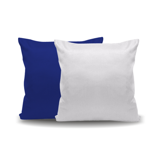 Almofada Azul - 20 cm x 20 cm (Capa + Almofada)