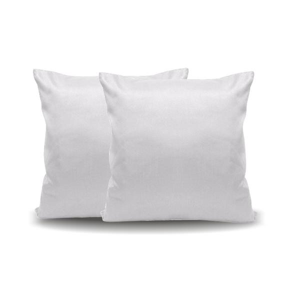Almofada Branca - 30 cm x 30 cm (Capa + Enchimento)