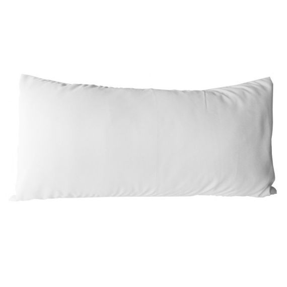 Almofada Branca 15x30cm (Capa + Enchimento)