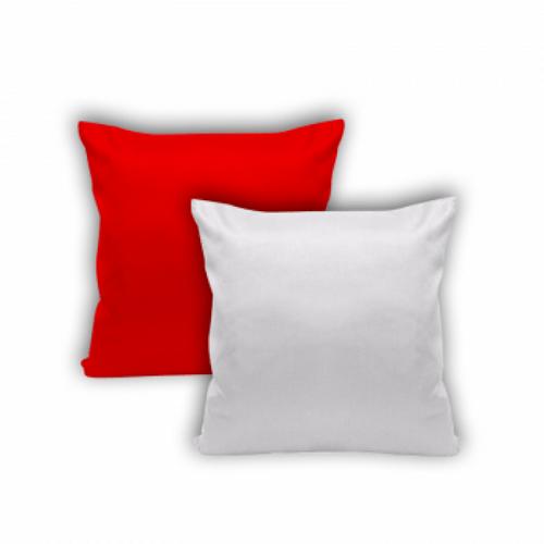 Almofada Vermelha - 40 cm x 40 cm (Capa + Enchimento)