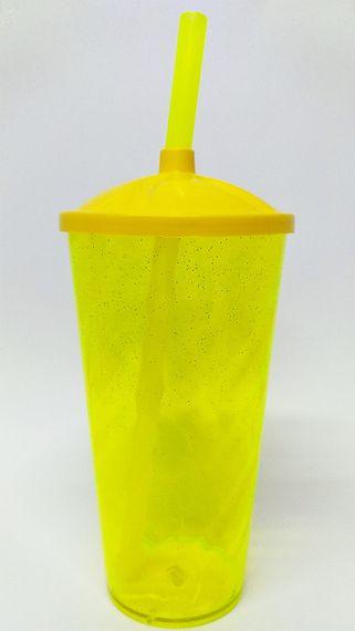 Copo Twister SHAKE - Transfer laser 550ml - com tampa e canudo
