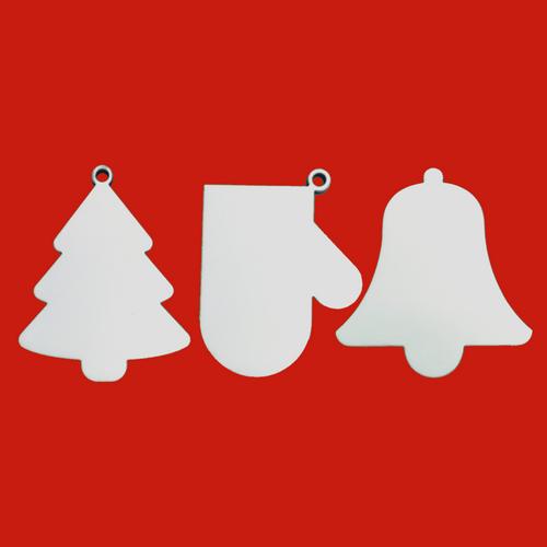Enfeite de porta - Natal - MDF