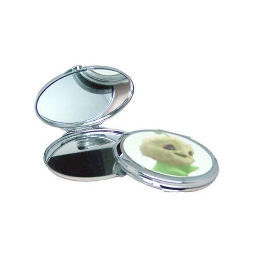 Espelho de bolsa redondo para sublimar