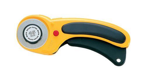 Estilete rotativo / cortador manual lâmina 45mm