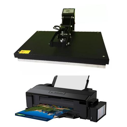 Kit de Personalização - Prensa Térmica A3 e Impressora Sublimática