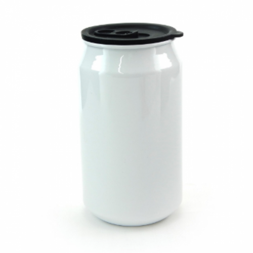 Latinha em Alumínio Branco - capacidade 350ml (latinha de refrigerante)