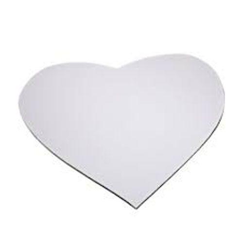 Mouse Pad Coração para Sublimar - UNIDADE