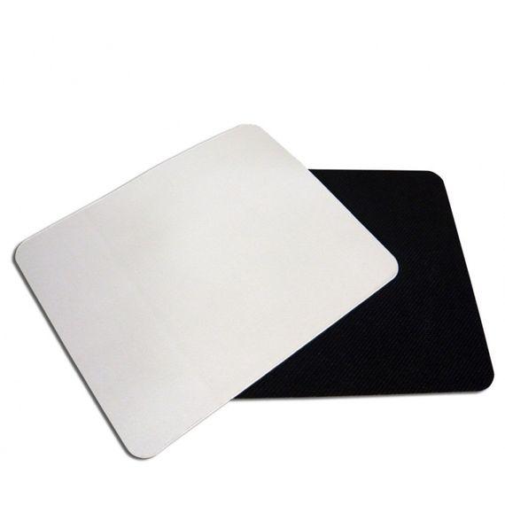 Mouse pad emborrachado quadrado 19x23 premium alta qualidade