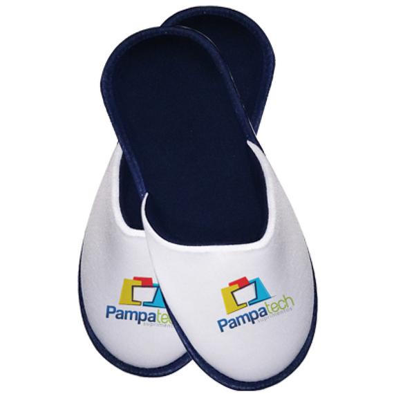 Pantufa Infantil para Sublimação - Azul