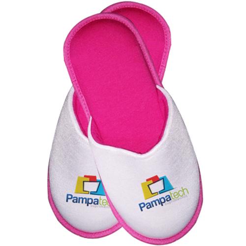 Pantufa Infantil para Sublimação - Rosa