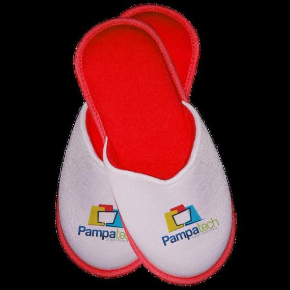Pantufa Infantil para Sublimação - VERMELHA