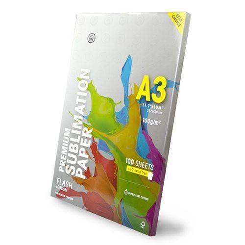 Papel sublimático A3 - Globinho - 110 folhas